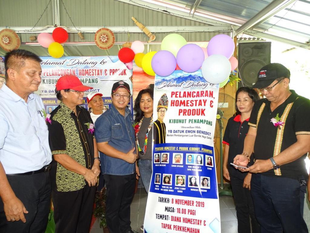 KPLB Sabah Sedia Peruntukan Khas Naiktaraf Jalan Pelancongan Komuniti Luar Bandar: Ewon