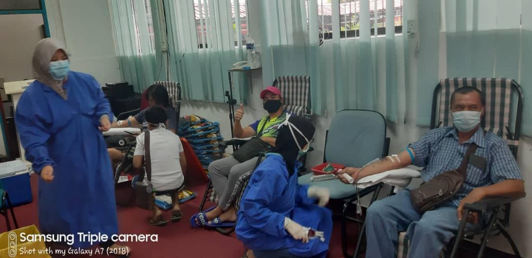 PKPB- Tidak halang ALPH Ranau Laksana Program Derma Darah.