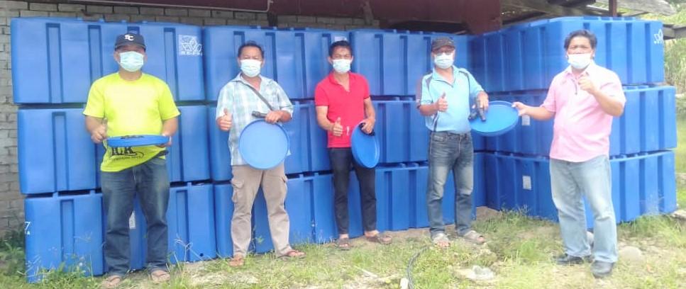 MP Ranau sumbang tangki air kepada 32 KIR