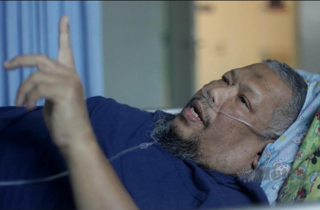 Saya Boleh Mati Bila-Bila Masa, kata pelakon dan pelawak, Bob Lokman.