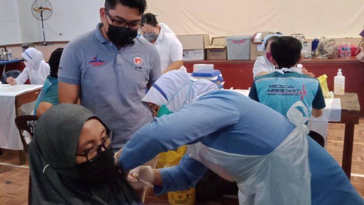 Program Imunisasi Vaksin Covid-19, 3.0 di Ranau berjalan lancar