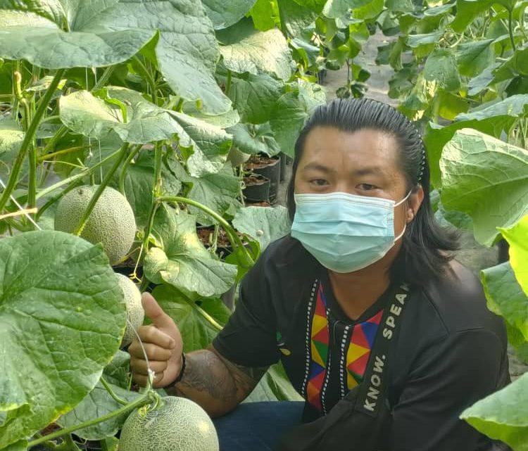 """""""Pertanian Adalah Perniagaan"""", kata Rowelon Juil"""