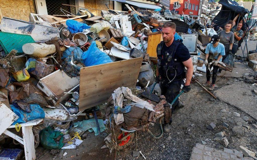 Korban banjir yang landa Eropah capai lebih 180 orang