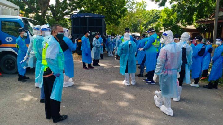 Ops Bersih COVID  besar-besaran di Kiansam kekang penularan wabak COVID 19 masyarakat setempat