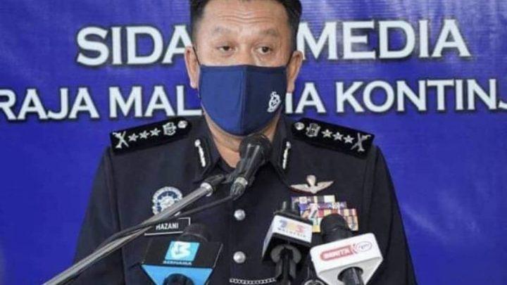 SJR Kota Kinabalu, Penampang dan Putatan ditutup: Polis