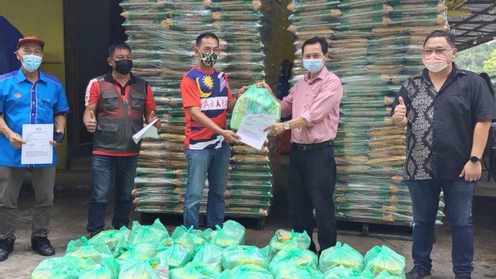 Bantuan Bakul Makanan mulai diedar kepada 4,615 Ketua Isi Rumah di Parlimen Ranau