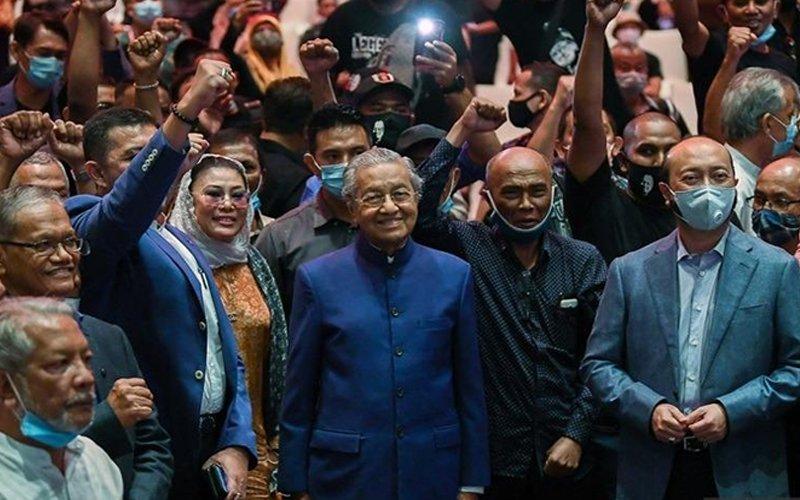 Pejuang kini parti politik berdaftar, kata Dr M