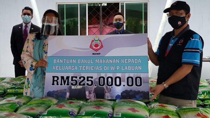 MAIWP lulus peruntukan RM525,000  bakul makanan  untuk warga Labuan