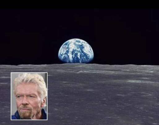 Bilionair Branson mahu bina hotel di bulan