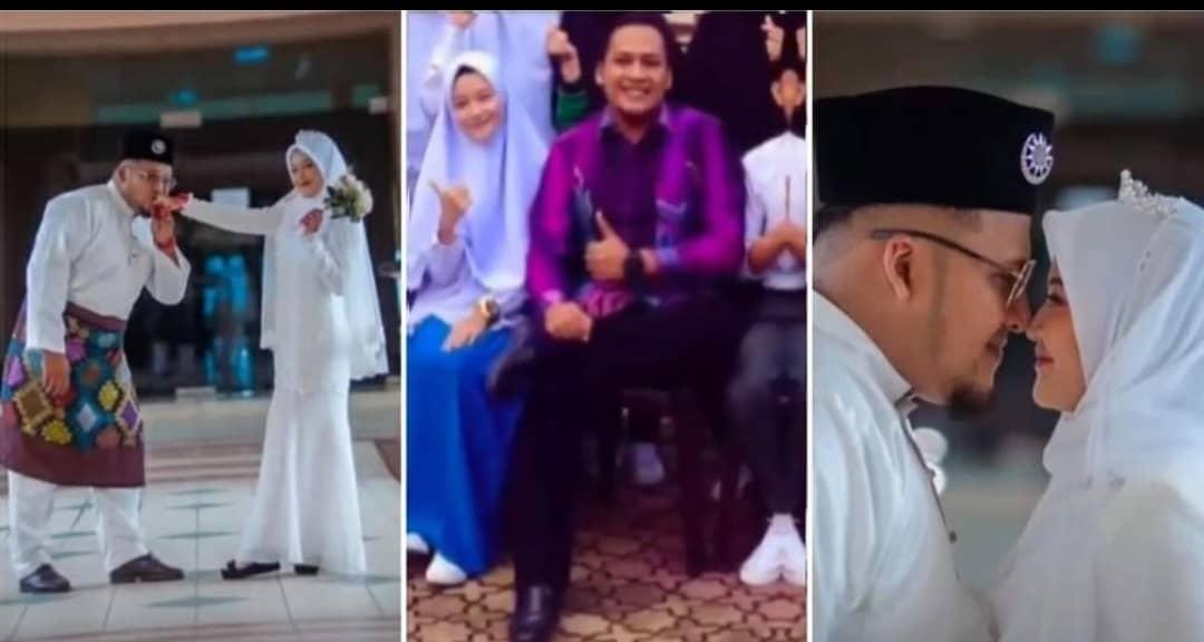 Cikgu Kahwin Dengan Bekas Pelajar Sendiri, Beza 10 Tahun