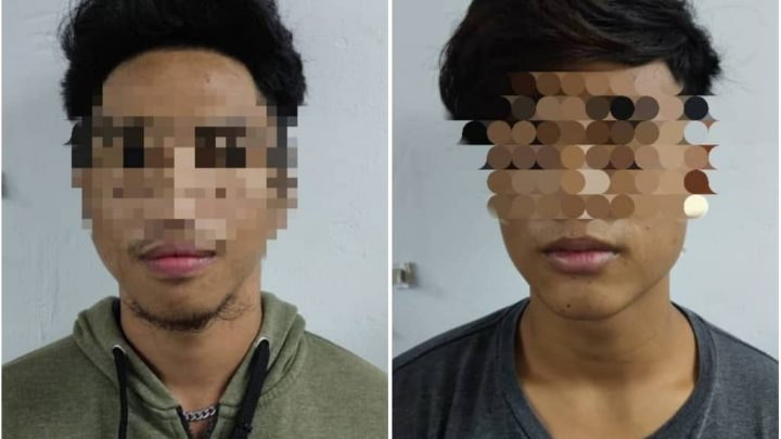 Dua lelaki remaja   disyaki curi tablet jenama Apple iPad ditahan polis