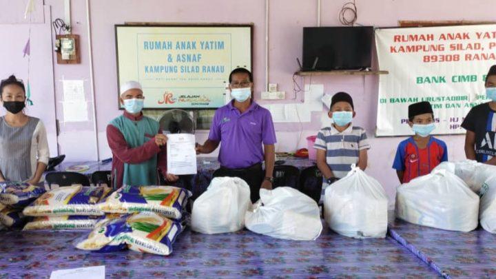 Golongan memerlukan terima bantuan BARMA, 4,615 penerima sehingga 13 Julai di Ranau.