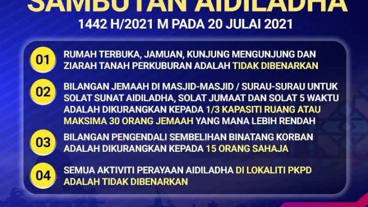 SOP AIDILADHA 2021
