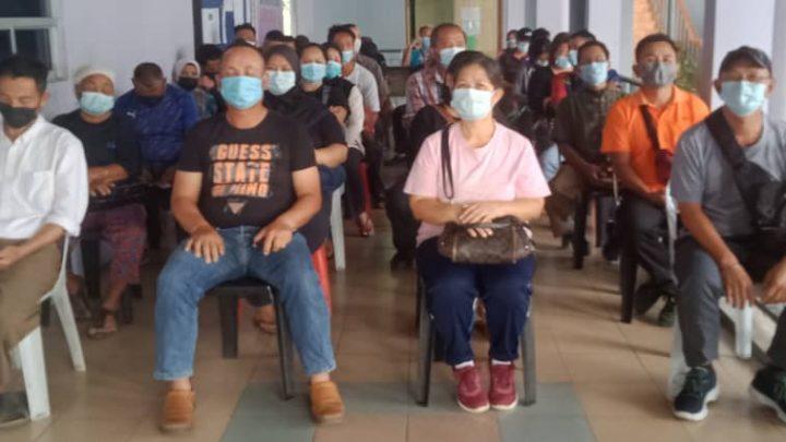 Jabatan Kesihatan Ranau, berjaya mengimunisasi 1,530 penduduk dalam tempoh 4 hari.