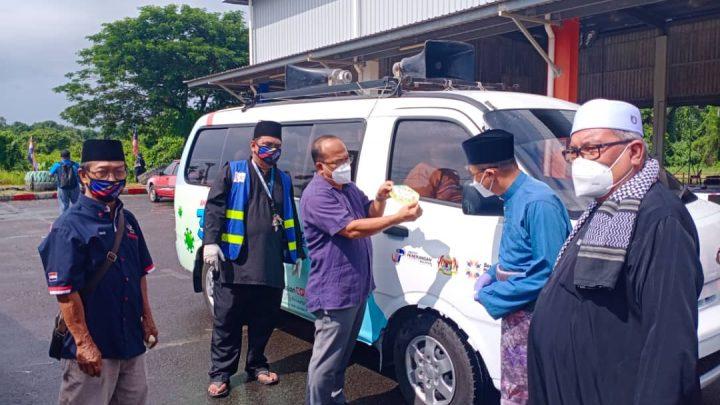 Kampung Sungai Bedaun sertai Pertandingan  Komuniti Zon Hijau Covid19