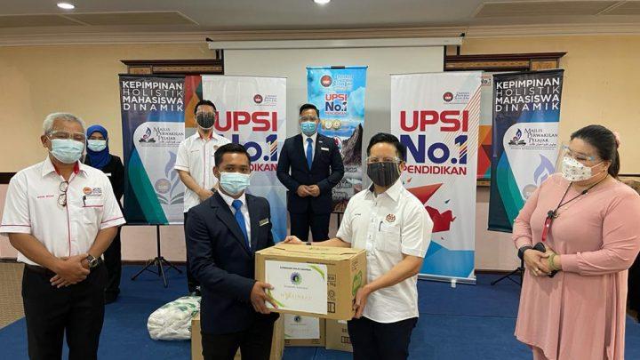 Seramai 134 pelajar Sabah di UPSI terima Bantuan Bakul Makanan