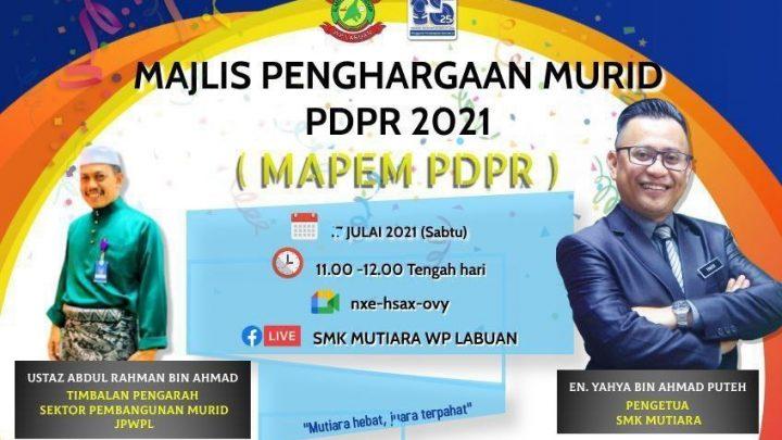 SMK MUTIARA IKTIRAF PELIBATAN MURID DALAM PdPR