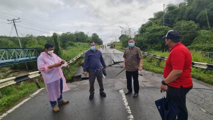 Jalan raya mendap,   tindakan susulan akan dilakukan segera – Robert Tawik