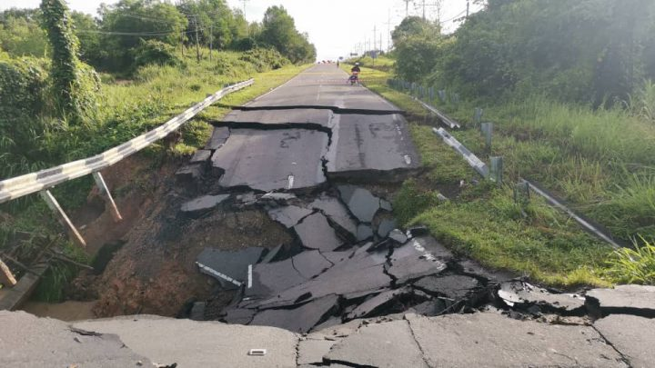 Jalan terjejas tanah runtuh akan dibaiki segera: Bung