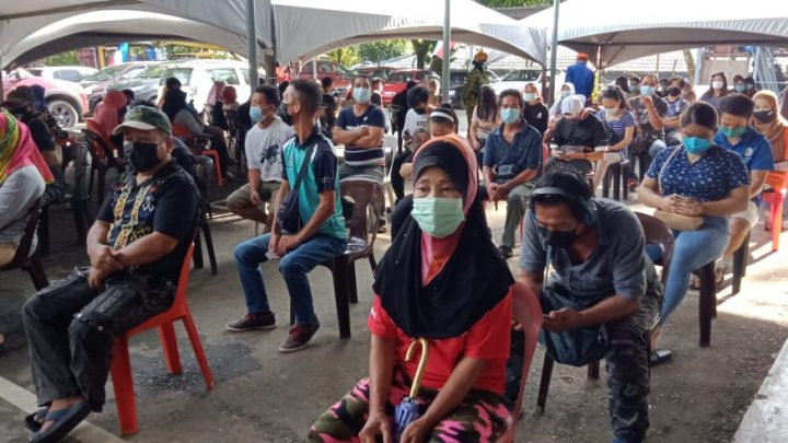 PPV Dewan Masyarakat Ranau catat 773 penerima suntikan vaksin untuk 4 September