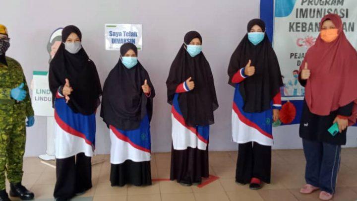 58 Pelajar RTMS Ranau, 85% Warga Emas, OKU dan Pesakit Telantar, Lengkap Dos Vaksin