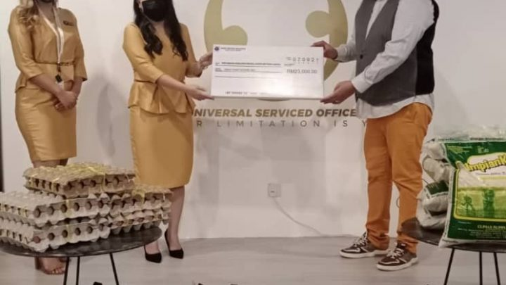 Universal Serviced Offices & Management Limited donates RM23,000 to Mutiara Labuan Charity