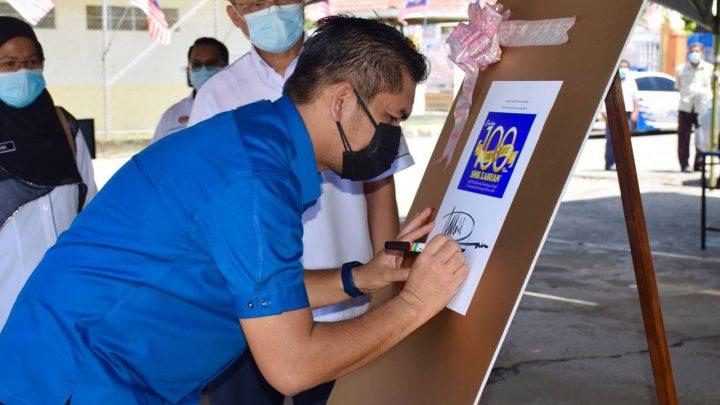 Menteri Kanan Pendidikan lawat SMK Labuan