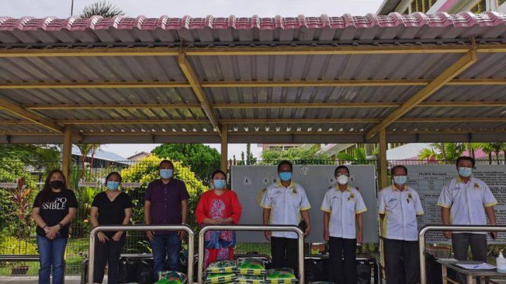 LPS, PIBG SJKC Chi Wen prihatin keluarga murid kurang mampu