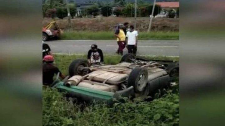 Anak maut tercampak keluar dari kenderaan