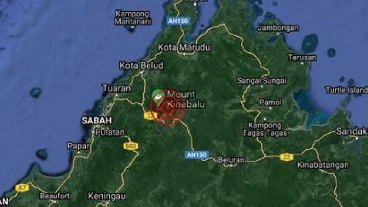 Gempa bumi lemah dikesan di Kundasang, Ranau