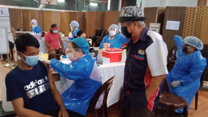 Warga Ranau terus diajak tampil terima suntikan vaksin
