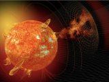 Ribut solar hentam Bumi tengah malam ini