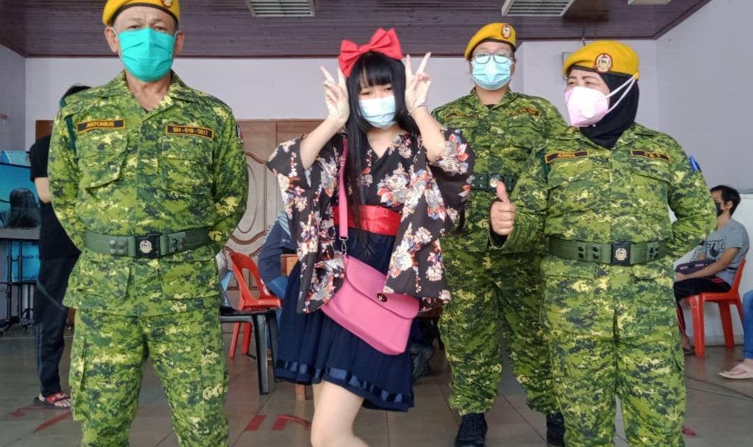 Tampilberpakaian 'Kimono' hadir ke PPV, Delphenie Duanis tarik perhatian ramai